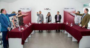Mayte Rivera toma protesta a directores de unidades administrativas