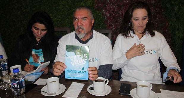 ONGs anuncian marcha contra legalización del aborto en Puebla