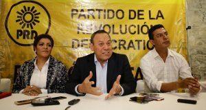 Zambrano afirma que PRD dio a Martha Erika votos con los que ganó