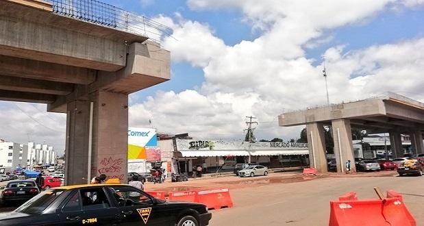 Descartan que puente de Xonacatepec esté en fecha prevista; ventas bajan 50%