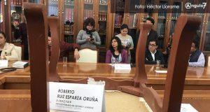 Ruiz Esparza planta a diputados para no aclarar deuda de 51 mdp en IPDJ