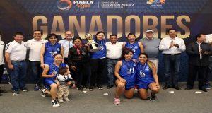 Participan 3 mil universitarios en 1ª Copa Basquetbol Puebla: SEP