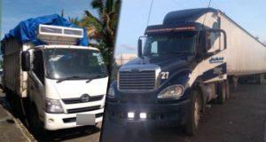 SSP detiene a diez hombre y asegura seis vehículos en Puebla