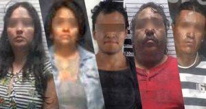 Detienen a 7 por diferentes delitos en 4 colonias de Puebla capital