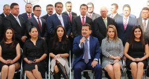 Alcalde electo de San Pedro presenta imagen y gabinete de gobierno