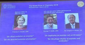 Por trabajo sobre evolución, 3 científicos reciben Nobel de Química