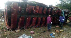Al menos 55 personas mueren por accidente de autobús en Kenia