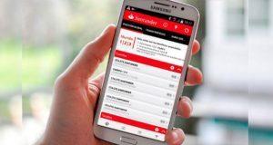 Santander lanza app para hacer aclaraciones por cargos no reconocidos. Foto: Santander
