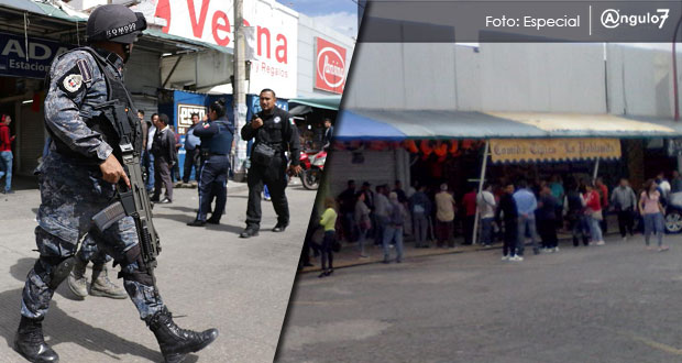 Más de 20 sujetos armados roban y arman balacera en La Fayuca