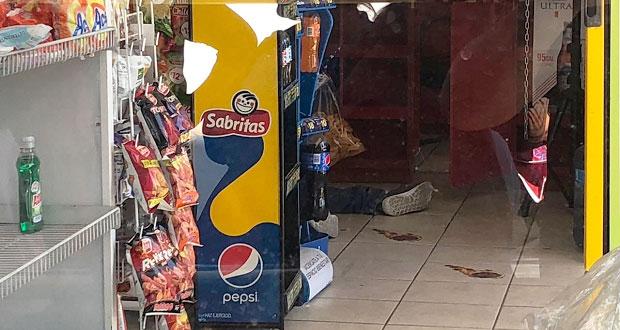 En intento de asalto, delincuentes asesinan a tendero en Xonacatepec