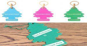 Demandan a Balenciaga por plagiar diseño de pino aromatizador