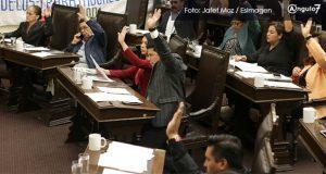 """Por tercer """"veto"""" de Gali, bancada Morena-PT-PES pedirá intervención de AMLO"""