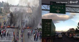 Bloquean la Puebla-Orizaba porque Marina cateo sin órdenes casas en Palmarito