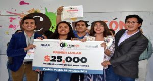 5 equipos de BUAP, entre los 15 ganadores del Creatón 2018