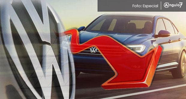 Volkswagen México reporta caídas del 11.3 y 4.8% en producción y exportación