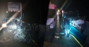 Carambola entre 4 vehículos en la Puebla-Orizaba deja 4 muertos
