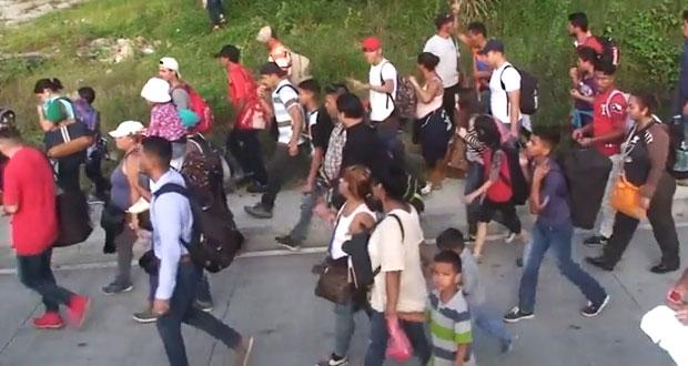 La caravana hondureña que moviliza a México, Guatemala y EU