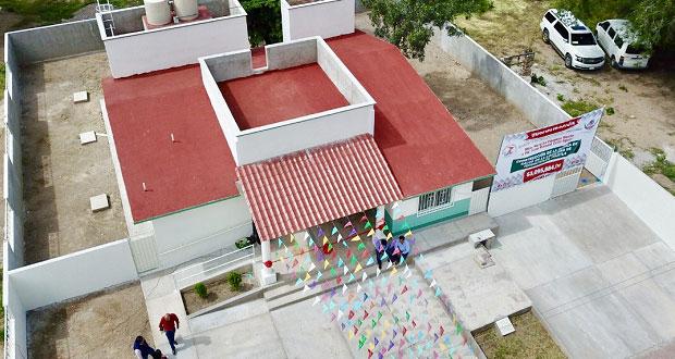 Inauguran casa de salud en beneficio de comunidad en Piaxtla