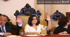 Rivera encabeza primera sesión de Cabildo; aprueban a nueva titular de Ssptm