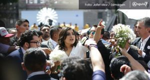 Desorganización opaca toma de protesta de Rivera como alcaldesa