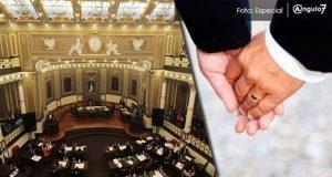 PRI propone en Congreso de Puebla legalizar los matrimonios homosexuales