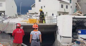Recuperan 8º cuerpo tras derrumbe en Monterrey