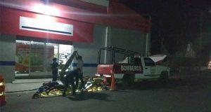 Por cambio de administración, desalojan a bomberos de Tecamachalco