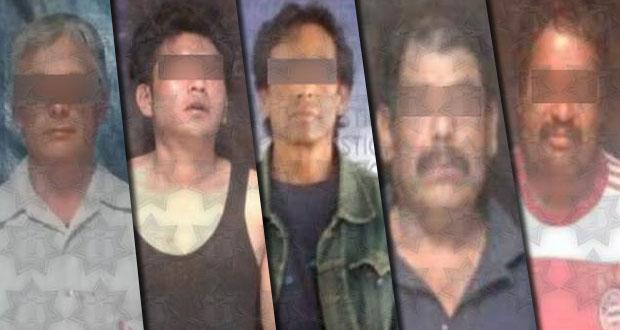SSP detiene a 6 personas por diferentes delitos en Puebla capital