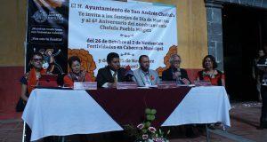 Con conferencias y cine, San Andrés Cholula celebrará Día de Muertos