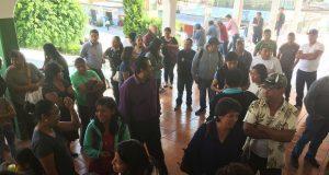 Acusan que concejo de Ocoyucan niega apoyo a docentes