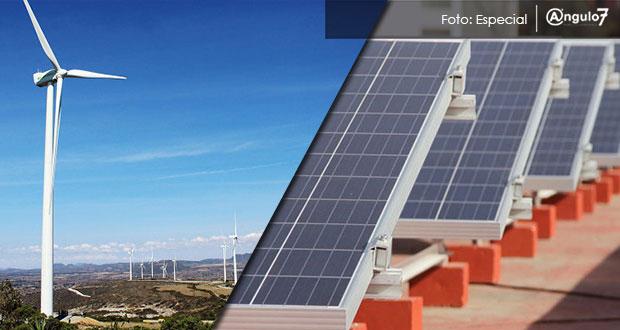 Puebla tiene 13 proyectos en energías limpias