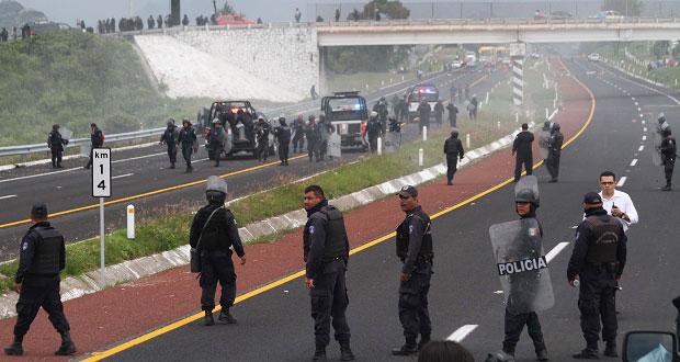 """""""Ley Bala"""" innecesaria; regulación de fuerza pública existe: Biestro"""