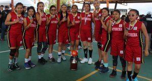 Puebla tiene representativo de Antorcha en torneo de basquetbol