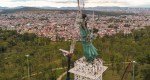 """Con estatua """"La Victoria"""", resaltarán respuesta ciudadana en 19-S"""