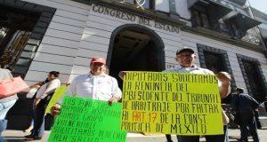 Extrabajadores exigen comparecencia en Congreso de magistrados de Conciliación
