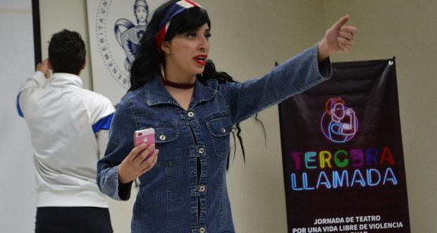 Presentan obra teatral sobre violencia de género en la BUAP