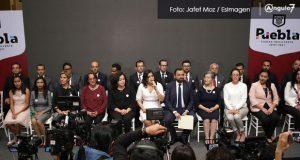 Listo, el gabinete de Claudia Rivera; René Sánchez encabezará Gobernación