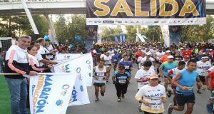 Con más de 30 mil participantes, arrancó el Maratón de Puebla