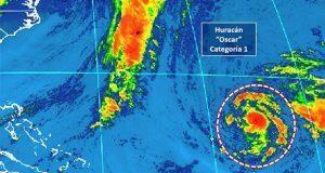 """En horas, tormenta tropical """"Óscar"""" podría convertirse en huracán"""