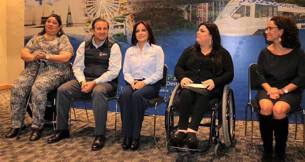 Puebla promueve inclusión social con turismo accesible: Sedif