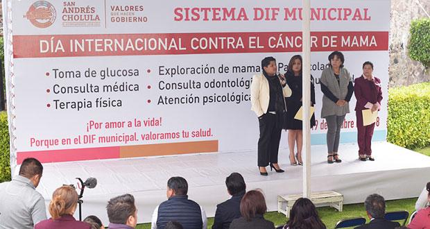 Karina Pérez inaugura jornada de salud para mujeres en San Andrés