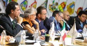 Banck promueve Mesa de Seguridad poblana en conferencia nacional