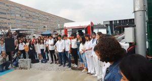 Alumnos de Ibero de Puebla exigen garantizar seguridad a universitarios