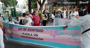 Comunidad trans de Puebla marcha; reporta 21 agresiones y exige respeto