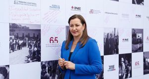 Debemos impulsar participación de mujer en política: Martha Erika