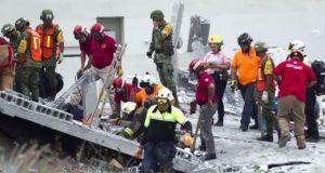 Suman 7 muertos por derrumbe en Monterrey