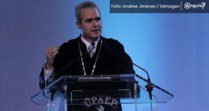 Combate a la violencia en Puebla es insuficiente, señala rector de Upaep