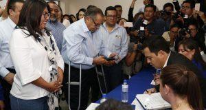 Huerta registra candidatura a CDE de PAN