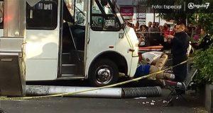 Joven queda atrapada bajo ruta 4 tras ser atropellada en El Carmen