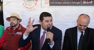Si IEE y TEEP no van a Senado, mostrarán complicidad con el fraude: Armenta